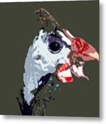 Proud Bird Metal Print