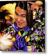 Proud Native Son Metal Print