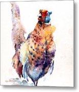 Proud Pheasant  Metal Print
