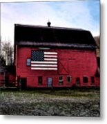 Proud To Be American Metal Print