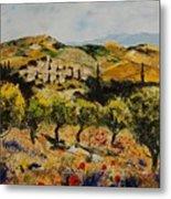 Provence 10080 Metal Print