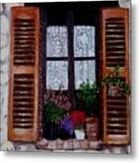 Provence Morning Metal Print