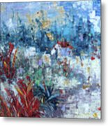 Provence South Of France Metal Print