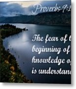 Proverbs114 Metal Print