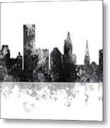 Providence Rhode Island Skyline Metal Print