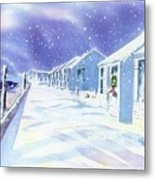 Provincetown Winter Metal Print