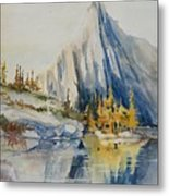 Prusik Peak Fall Morning Metal Print