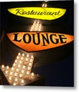 Ps Lounge Metal Print