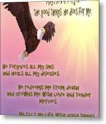 Psalm 103 Metal Print