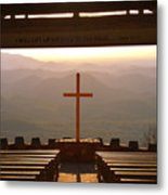 Psalm 121 1 I Will Lift My Eyes To The Hills Metal Print