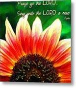 Psalm 149 1 Metal Print