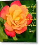 Psalm 34 V 19 Metal Print