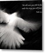 Psalm 91 Metal Print by Glennis Siverson