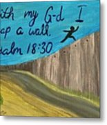 Art Therapy For Your Wall Psalm Art Metal Print