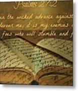 Psalms101 Metal Print
