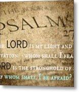 Psalms102 Metal Print
