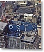 Psfs Building Metal Print