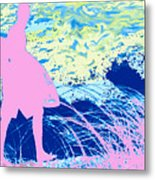 Psychadelic  Beach Metal Print