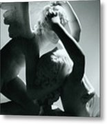 Psyche Revived By The Kiss Of Cupid Metal Print