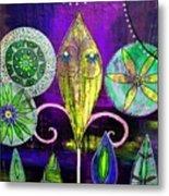 Psychedelic Garden 2 Metal Print