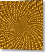 Psychedelic Spiral Metal Print