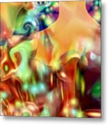 Psychedelic Xperiment Metal Print