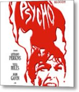 Psycho Metal Print by Ron Regalado