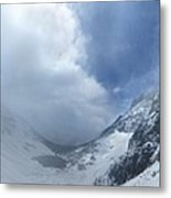 Ptarmigan Pass South Approach - Glacier National Park Metal Print