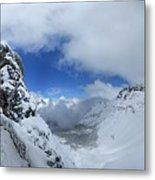 Ptarmigan Pass Tunnel North - Glacier National Park Metal Print
