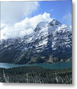 Ptarmigan Trail Overlooking Elizabeth Lake 5 - Glacier National Park Metal Print