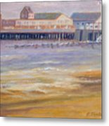 Ptown Fisherman's Wharf Metal Print