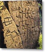 Puako Petroglyphs Metal Print