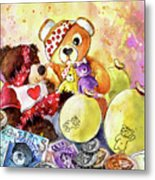 Pudsey And Truffle Mcfurry For Children In Need Metal Print