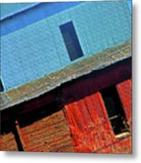 Pueblo Downtown--sweenys Feed Mill Metal Print by Lenore Senior