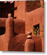 Pueblo Revival Style Architecture II Metal Print