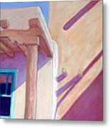 Pueblo Shadows Metal Print