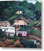 Puerto Rico Mountain View Metal Print