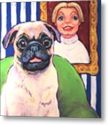 Pug - Beth Ann And Butch Metal Print
