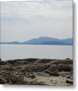 Puget Sound Islands Metal Print