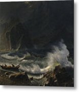 Puget  Sound  On  The  Pacific  Coast, Metal Print