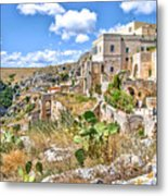 Puglia Canvas Church Hermitage Pulsano - Monte Sant Angelo - Foggia - Gargano Metal Print