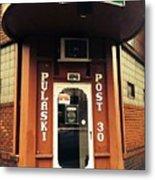 Pulaski Post Metal Print
