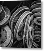 Pulled In Every Direction Metal Print