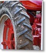 Pulling For The Farm Metal Print