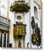 Pulpit Kalmar Cathedral Metal Print