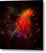 Pulsar Metal Print by Corey Ford