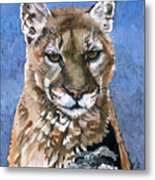 Puma - The Hunter Metal Print