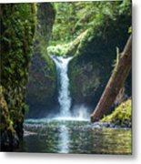 Punch Bowl Falls Metal Print