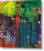 Punctuated Silences Metal Print