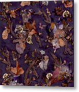 Pungent Purples And Pretty In Pinks Metal Print